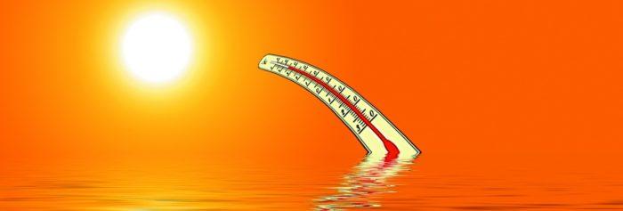 猛暑 温度計