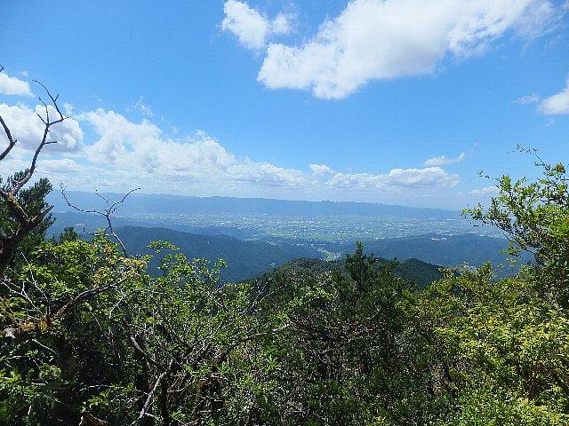 古処山頂からの展望