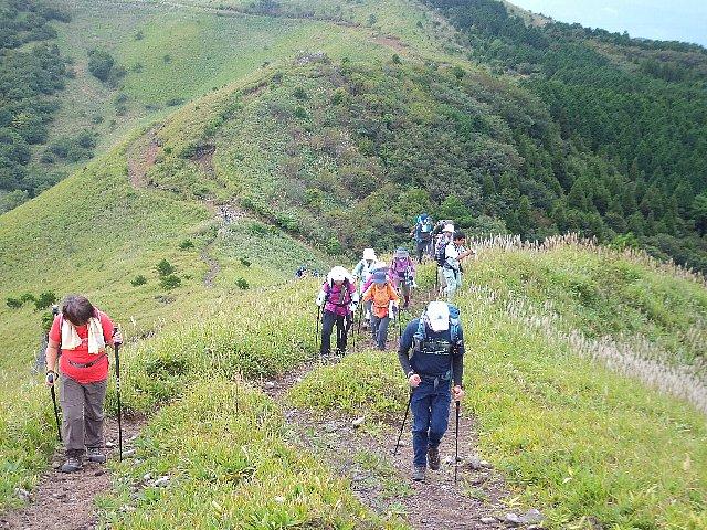 みそこぶし山への登路