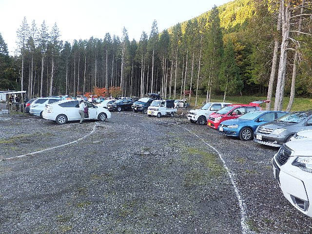 吉部駐車場
