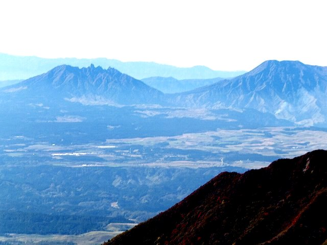 阿蘇山遠景