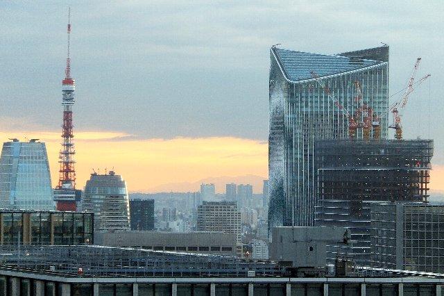 東京タワー 虎ノ門ヒルズ