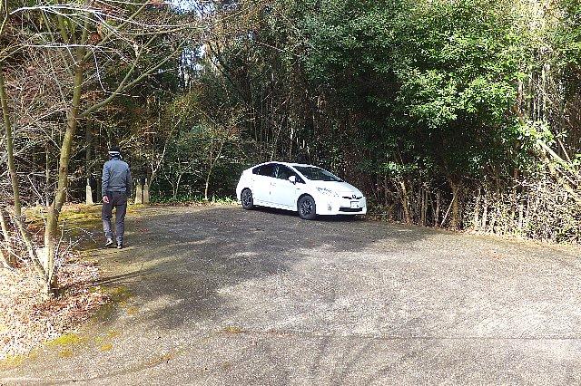 猪群山駐車場