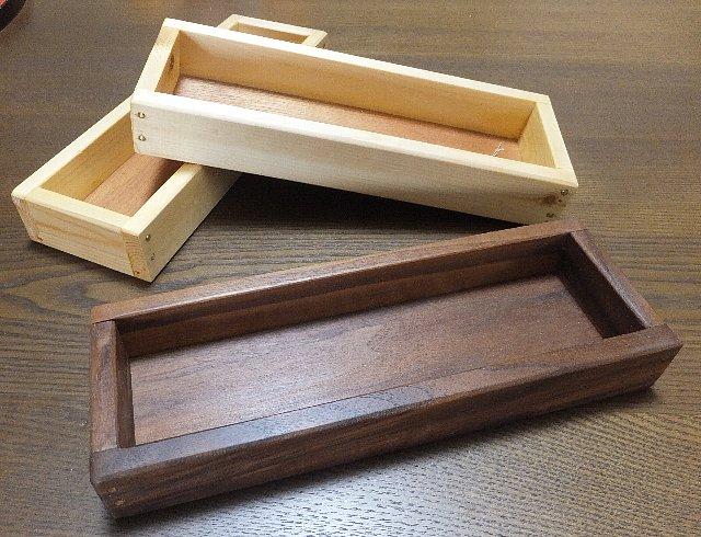 木の小箱(ペンケース)