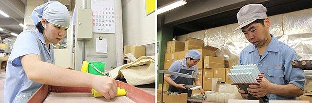日本理化学工業の社員たち