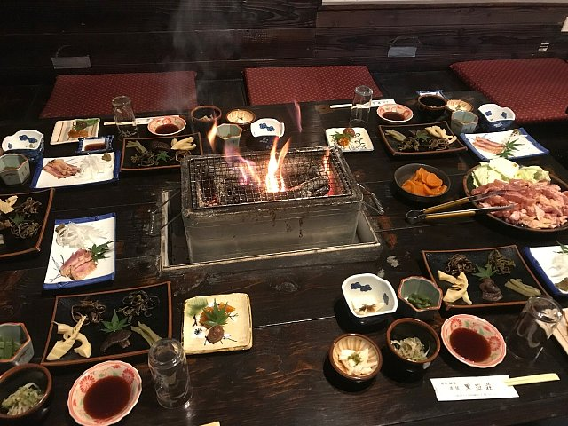 黒嶽荘 夕食
