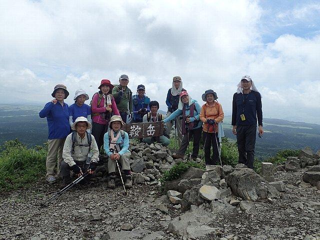鞍岳 アタック山の会