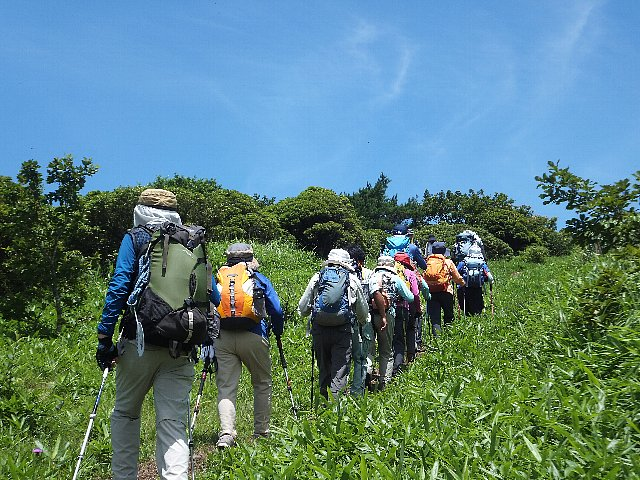 鞍岳・ツームシ山