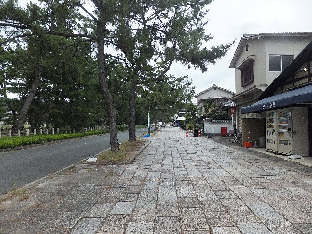 法隆寺の参道