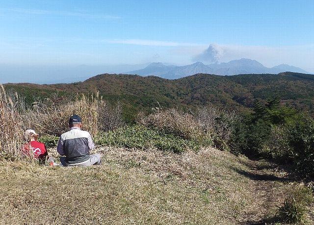 冠ヶ岳山頂