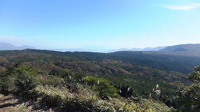 阿蘇南外輪山稜線