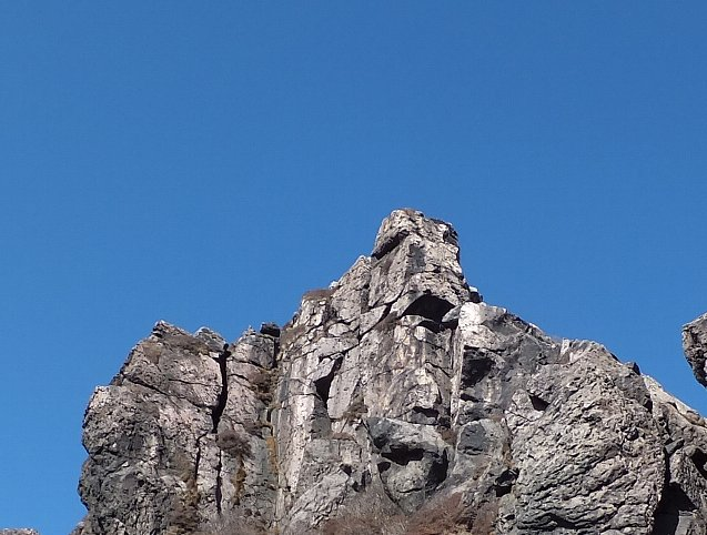 くじゅう 星生﨑の岩峰