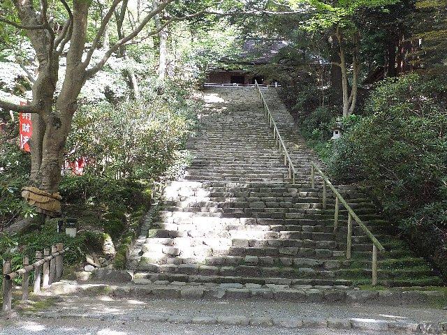 室生寺 鎧坂