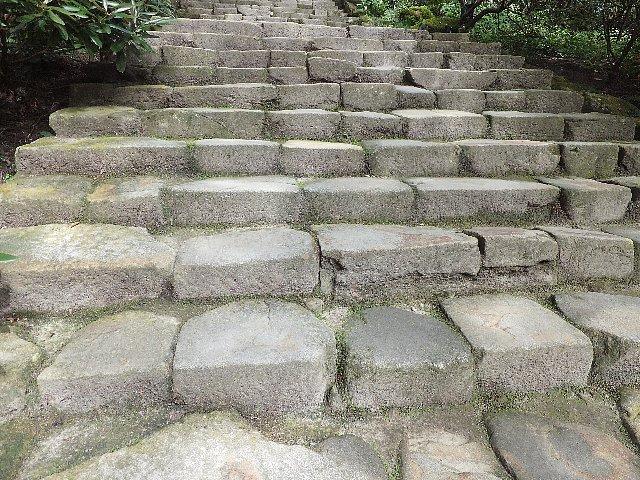 室生寺 石段