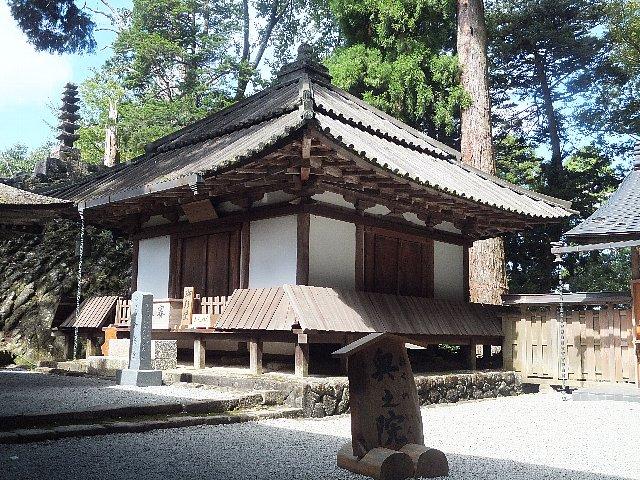 室生寺 御影堂(大師堂)