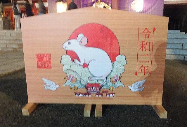 篠崎八幡宮の大絵馬