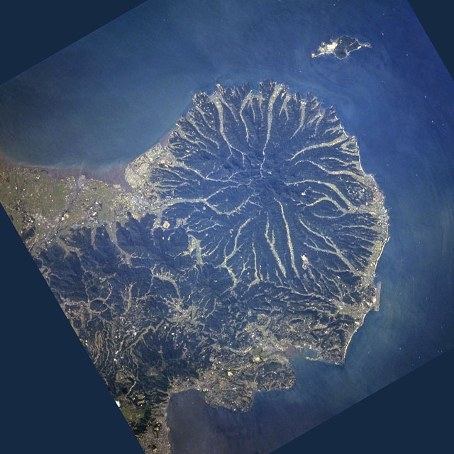国東半島衛星画像