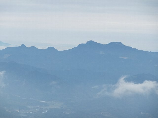 英彦山遠景