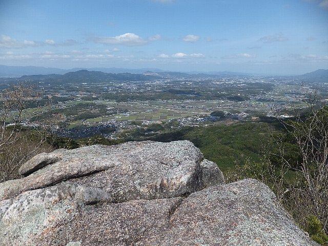 岩石山 国見岩からの展望