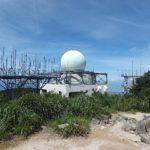 三郡山 航空監視レーダー