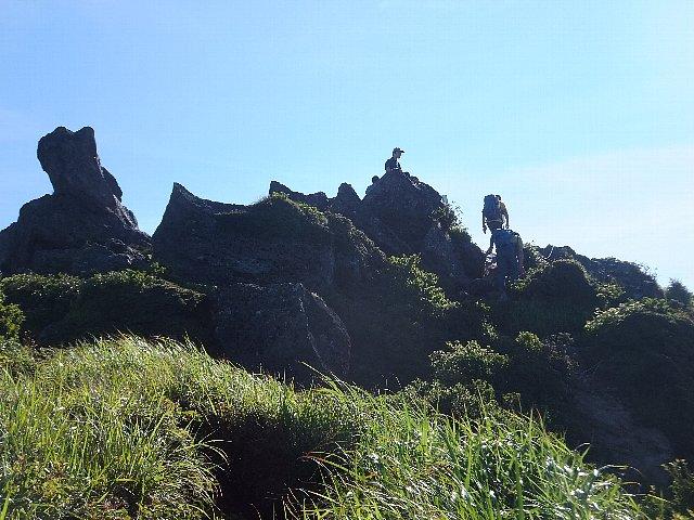 由布岳東峰
