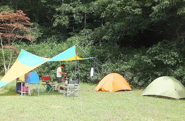 志高湖野営場