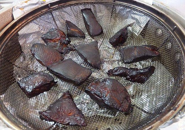 鶏胸肉の燻製
