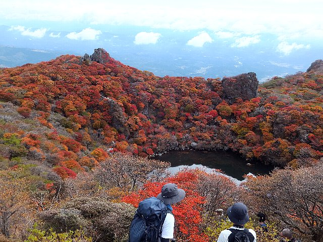 大船山御池の紅葉