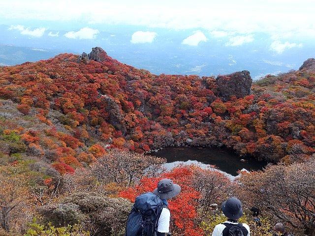 大船山 御池の紅葉
