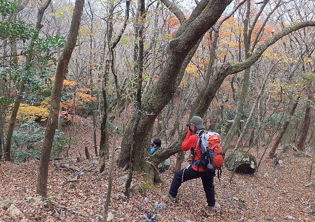 英彦山の紅葉を撮る
