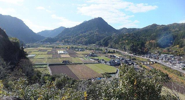 古羅漢探勝道 国東塔からの眺望