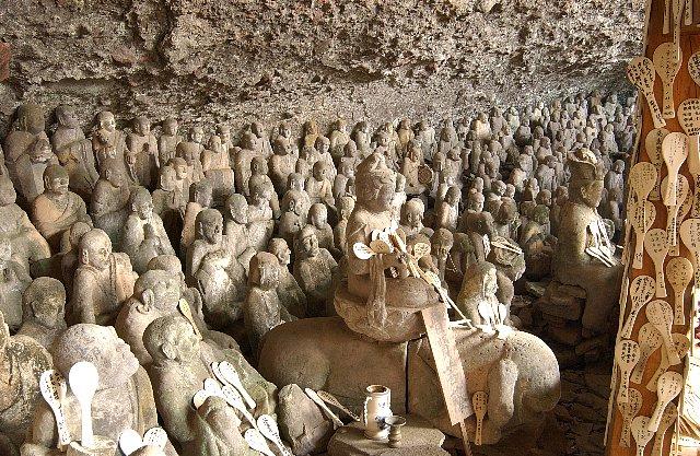 羅漢寺の五百羅漢像