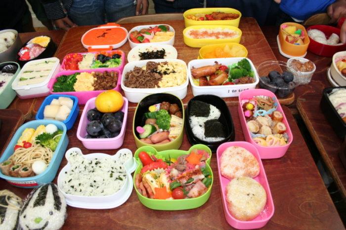 弁当の日 小学生の自作弁当