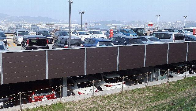 皿倉山ケーブル駐車場