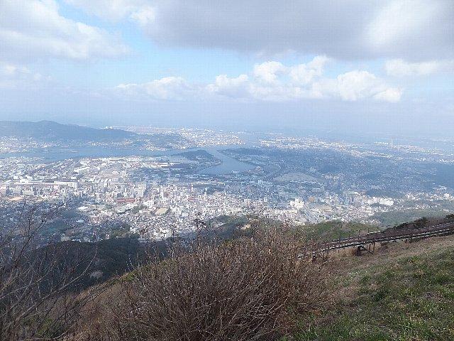 皿倉山の展望