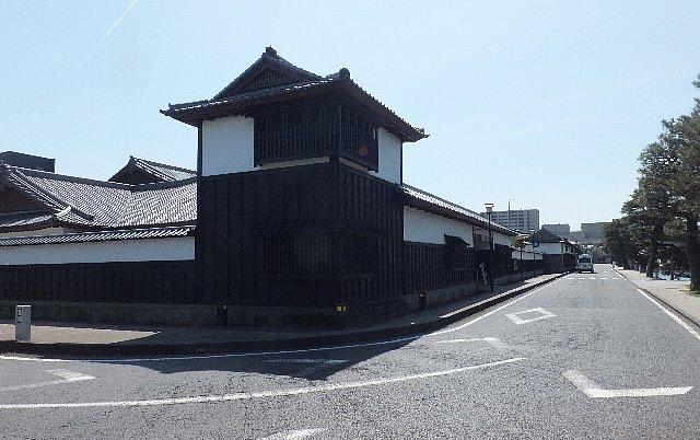 松江城 塩見縄手の武家屋敷