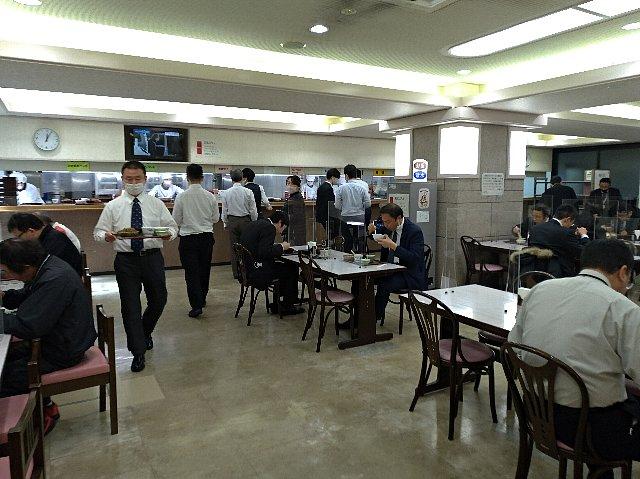 島根県庁地下食堂