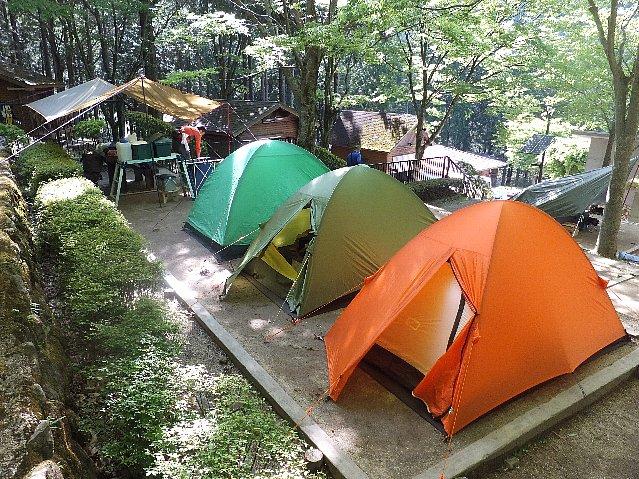 求菩提キャンプ場