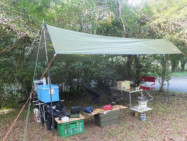鯛生家族旅行村キャンプ場