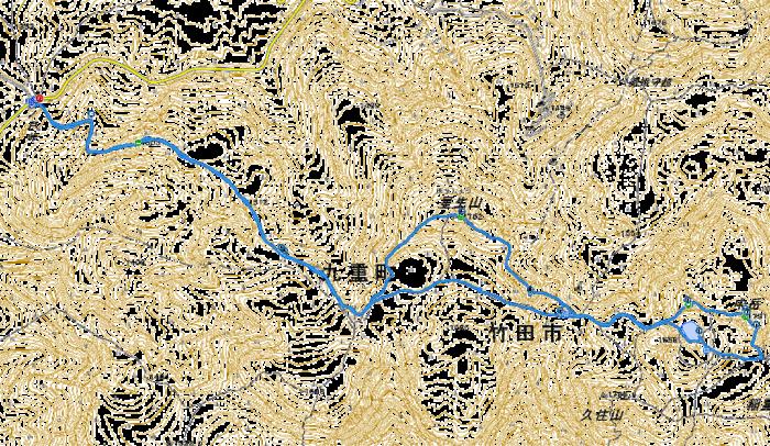 中岳 星生山