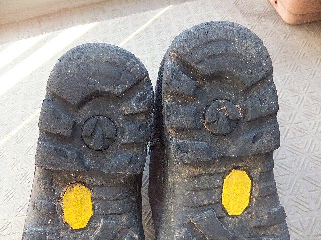 登山靴のソール