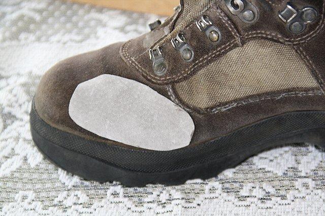 登山靴の補修